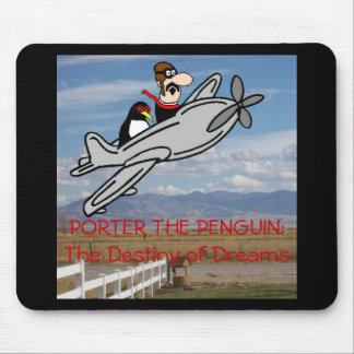 PORTER THE PENGUIN MOUSE PAD