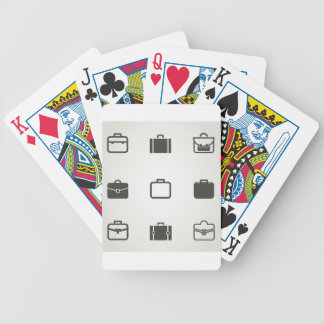 Portfolio an icon bicycle playing cards