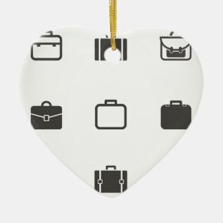 Portfolio an icon ceramic heart decoration