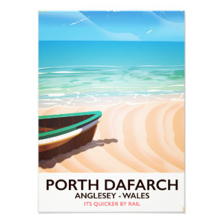 Porth Dafarch, Anglesey Welsh beach poster Photograph