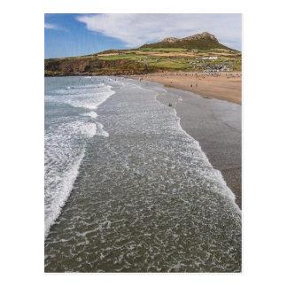Porth Mawr Whitesands Bay Wales Postcard