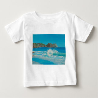 Porthcurno wave. baby T-Shirt