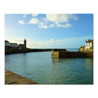 Porthleven Cornwall England Harbour Wall Photo Print