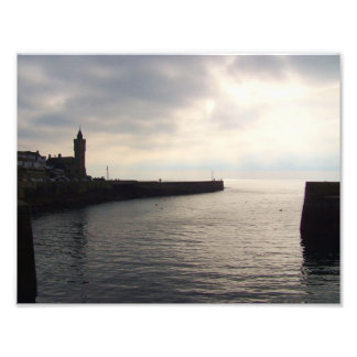 Porthleven Cornwall England Harbour Wall Photographic Print