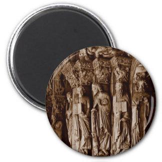 Portico de la Gloria 6 Cm Round Magnet