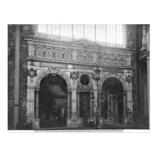 Portico of the Silversmith Pavilion Postcard