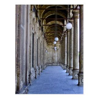 Portico of the Sultan Ali mosque in Cairo Postcard
