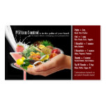 Portion Control Business Cards