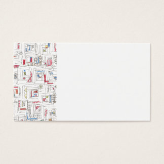 Portland-Abstract Art Pattern Business Card
