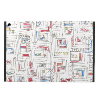 Portland-Abstract Art Pattern Case For iPad Air