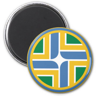 Portland Air Patrol Roundel 6 Cm Round Magnet