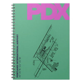 Portland Airport (PDX) Diagram Notebook