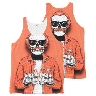 Portland Bone Thug All-Over Print Singlet