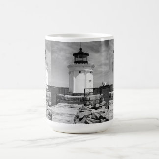 Portland Breakwater Lighthouse Coffee Mug