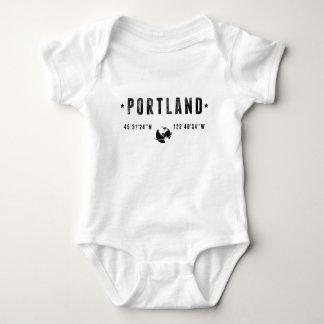 Portland cement baby bodysuit