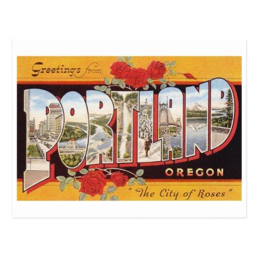 Portland: City of Roses Postcards