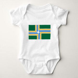 Portland Flag Baby Bodysuit