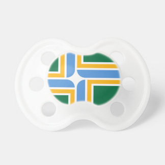 Portland Flag Baby Pacifier