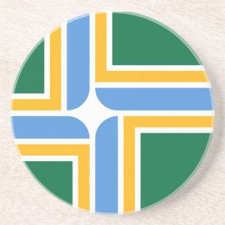 Portland Flag Drink Coasters