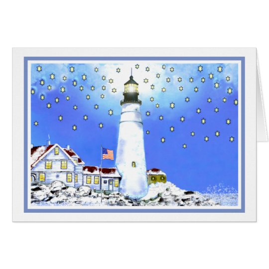 Portland Head Light by Brigid O'Neill Hovey Card