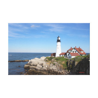 Portland Head Light canvas art