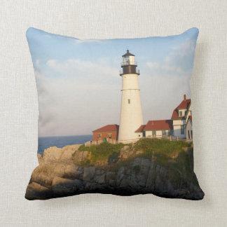 Portland Head Light Lighthouse Cushion