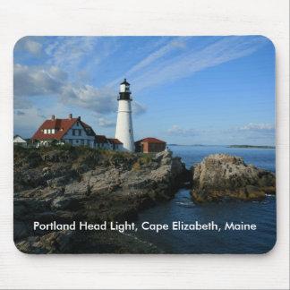 Portland Head Light Mouse Pad