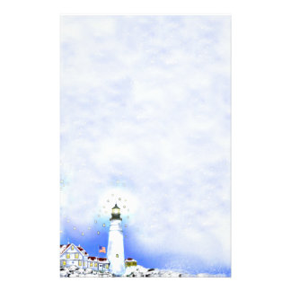 Portland head Light Note Paper Personalised Stationery