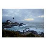 Portland Head Lighthouse at Sunrise Posters
