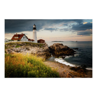 Portland Head Lighthouse | Cape Elizabeth, Me Poster