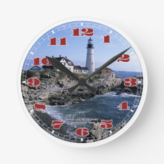 Portland Head Lighthouse Clock