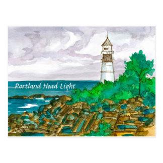 Portland Head Lighthouse Postcard