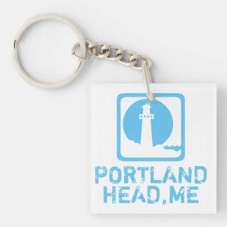 Portland Head Maine Key Ring