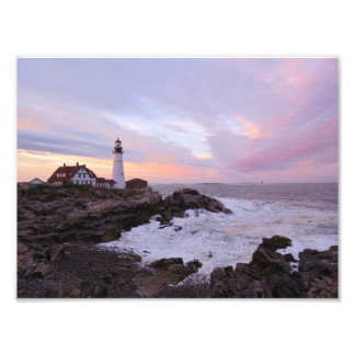 Portland Headlight Photo Print