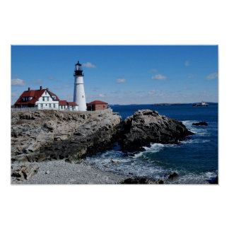 Portland Headlight Poster - 1