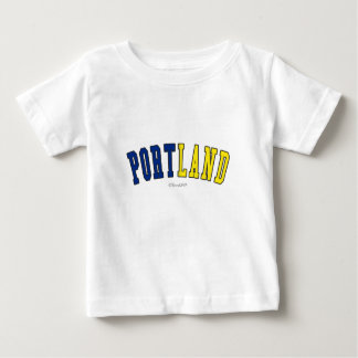 Portland in Oregon state flag colors Tee Shirts