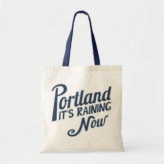 Portland-It's Raining Now Canvas Bags