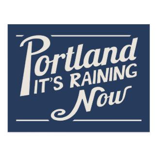 Portland-It's Raining Now Postcard