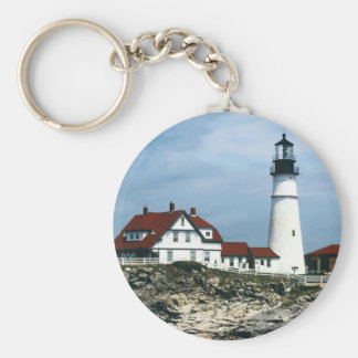 Portland Lighthouse Key Ring