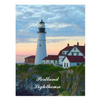 Portland Lighthouse Postcard