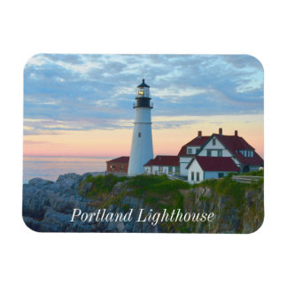 Portland Ligthouse Rectangular Photo Magnet