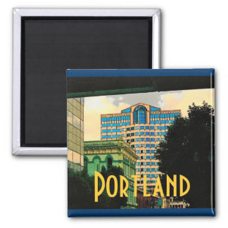 Portland Magnet (Yellow)