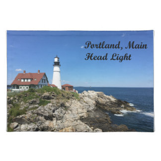 Portland Main Head Light Lighthouse 2017 Placemat