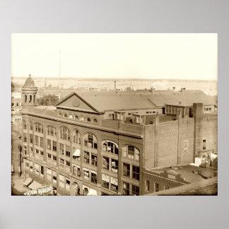 Portland, Maine Baxter Memorial Building ca1910 Print