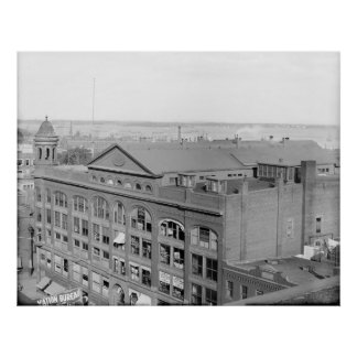 Portland, Maine Baxter Memorial Building ca1910 Posters