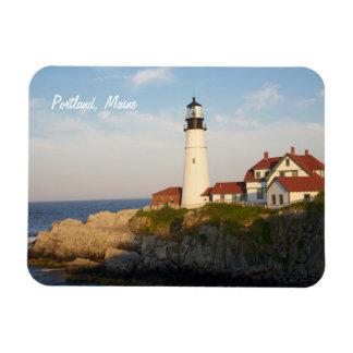 Portland Maine Head Light Lighthouse Magnet