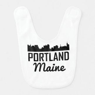 Portland Maine Skyline Bib