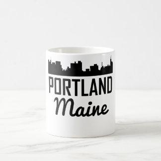 Portland Maine Skyline Coffee Mug