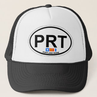Portland Maine. Trucker Hat