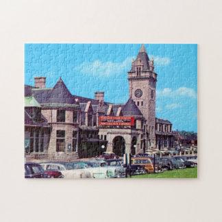 Portland, Maine Union Station 1950s Puzzle